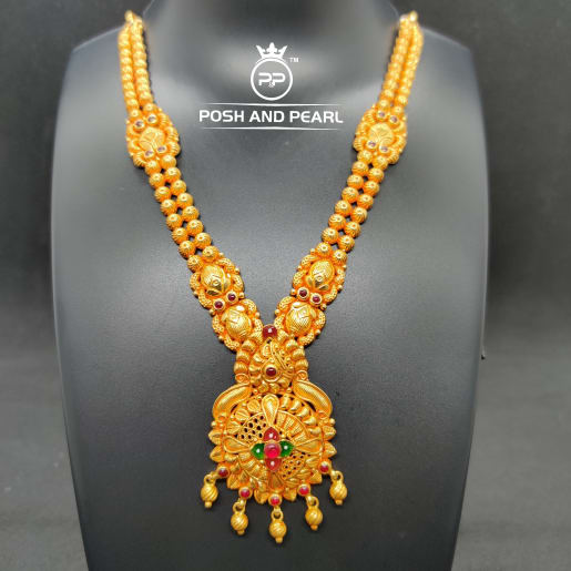 Fancy Short Gundu Necklace