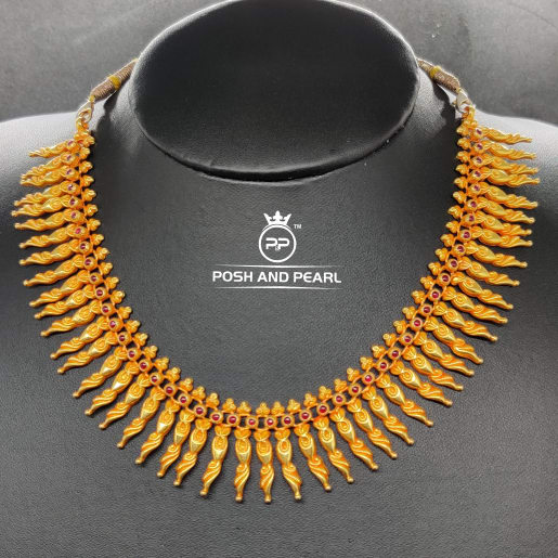 Peacock Patti Necklace