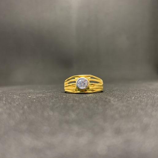Cz One Stone Ring