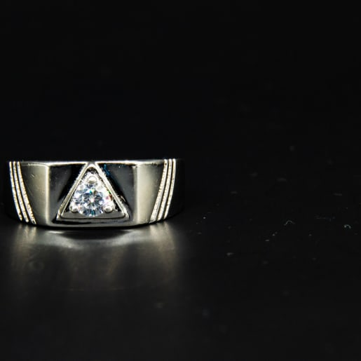925 Silver Silver Opulence Ring