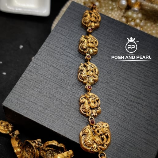 Nakash Laxmi Necklace Pp0093
