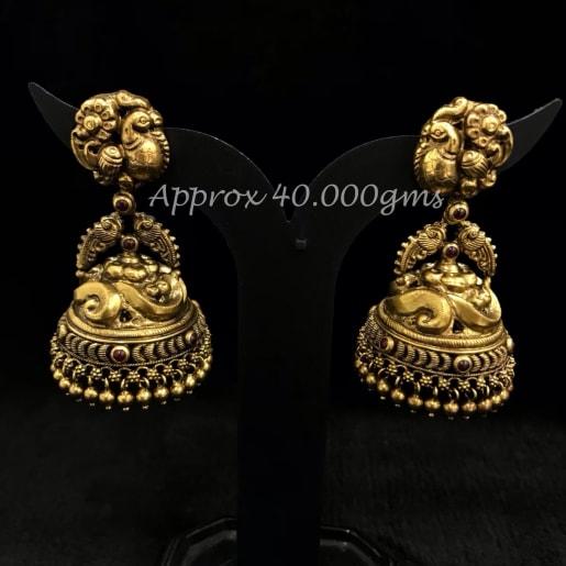 Hina Antique Nakash Jhumka