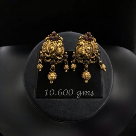 Peacock Nakash Earrings