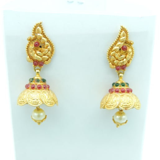 Antique Jhumki - Stud