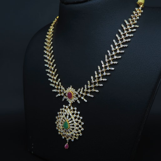 Ruby Emerald Necklace