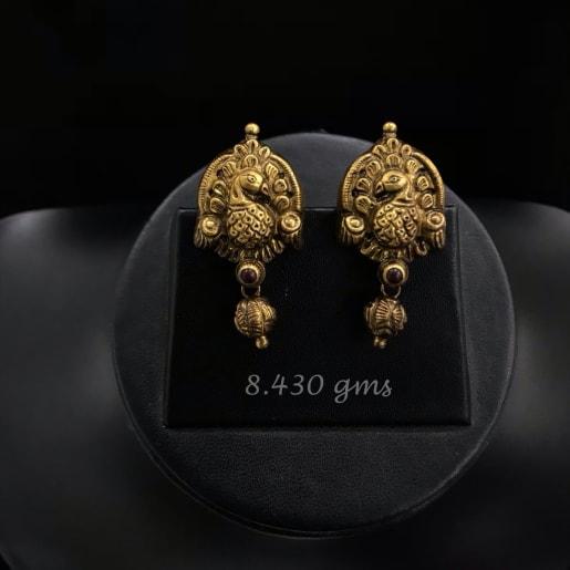 Parita Antique Nakash Gold Earrings
