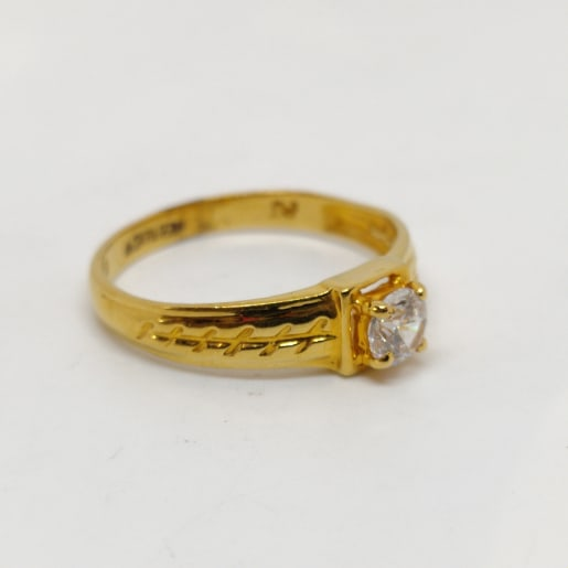 Chaanakya Cz Ring
