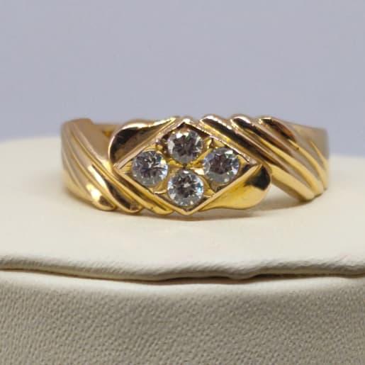 Chanchal Cz Ring