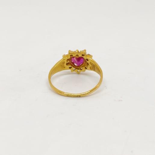 Tanvee Stone Gold Ring
