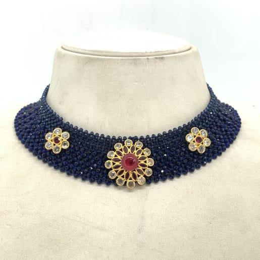 Blue Stone Designer Necklace