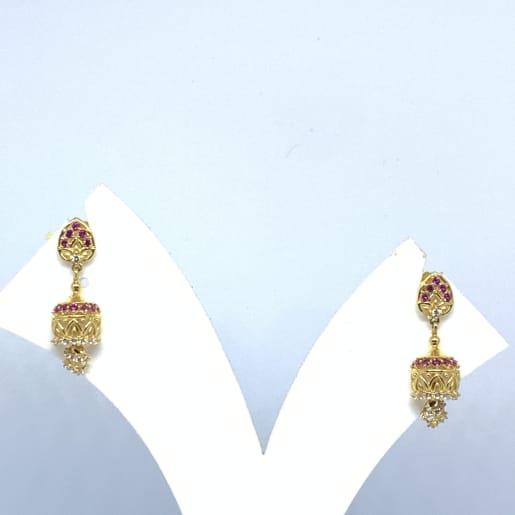 Designer Cz Drop Earrings