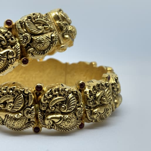 Peacock Designer Antique Bangles