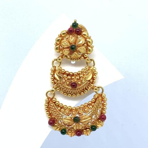 Designer Gold Chaandbali