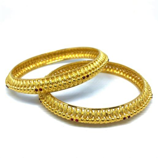 Gold Leaf Bangles