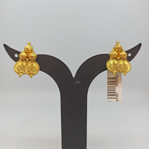 Small Lakshmi Studs For Her