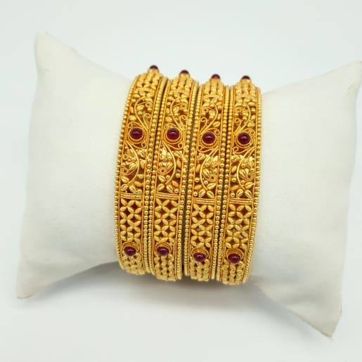 Antique Bangle - 4pcs