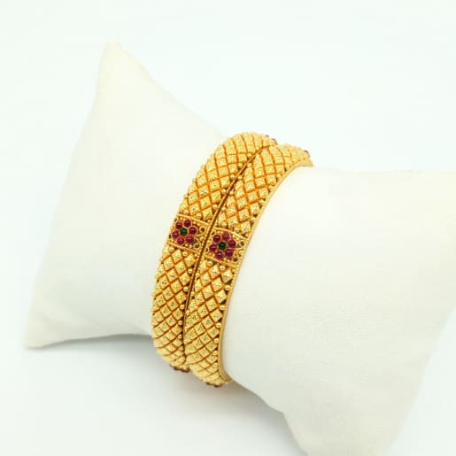 Antique Bangle - 2pcs