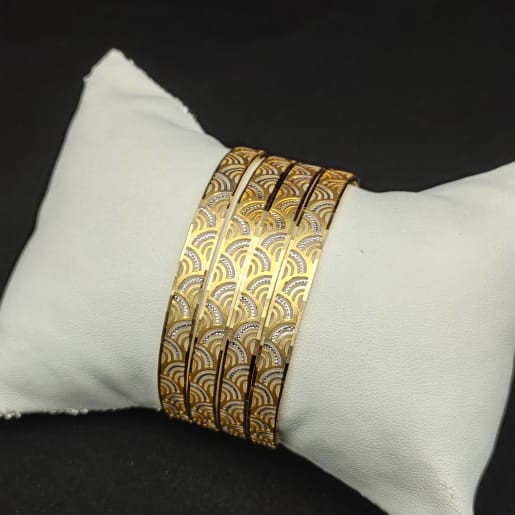 Bangle With Rhodium - 4pcs
