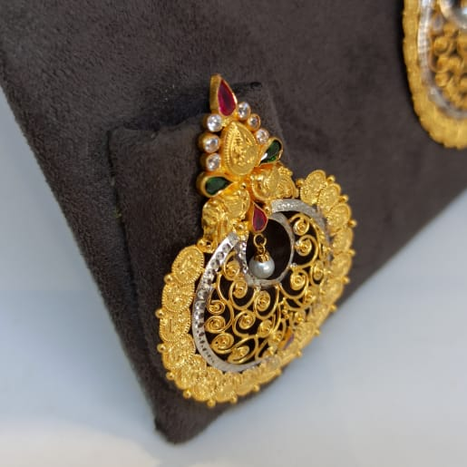 Chaand Lakshmi Earrings