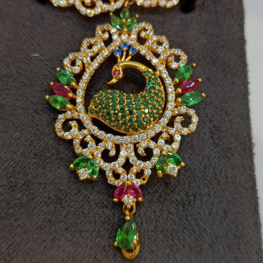 Peacock Colorstone Pendant