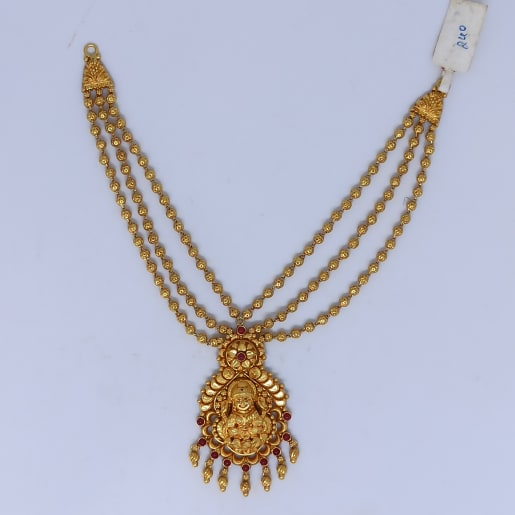 Lakshmi Bead Mala Necklace