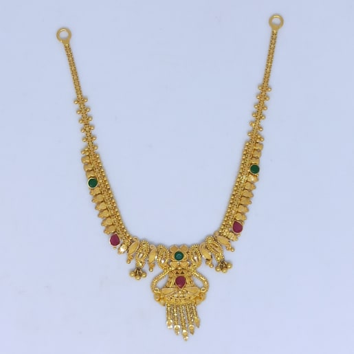 Neha Colorstone Antique Necklace