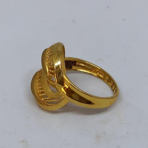 Rope Leaf Ring