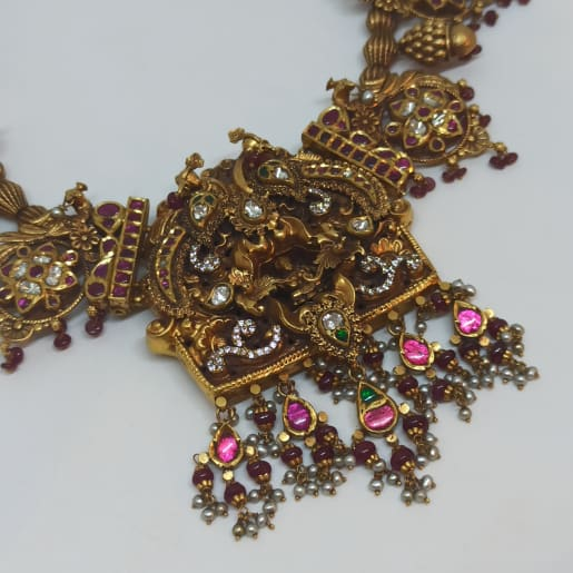 Lakshmi Antique Necklace