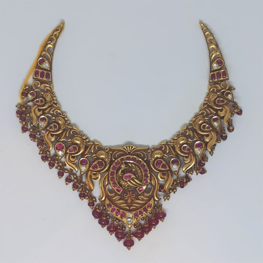 Antique Gold Kemp Necklace