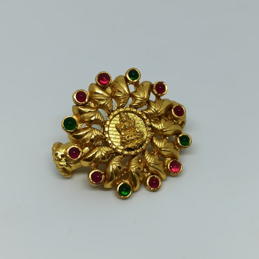 Lakshmi Floral Antique Kada