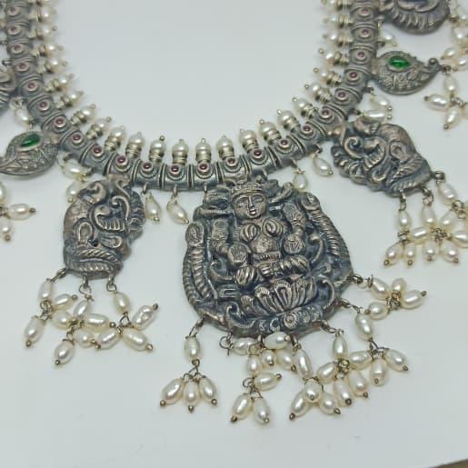 Lakshmi Antique Moti Necklace