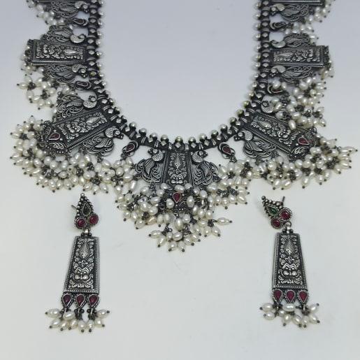 Srividhya Antique Necklace Set