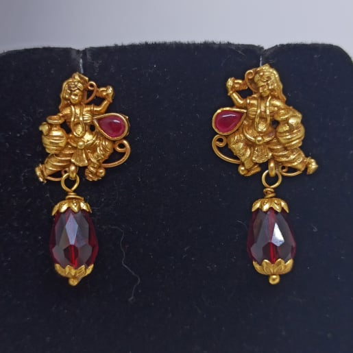 Kanya Antique Drop Earrings