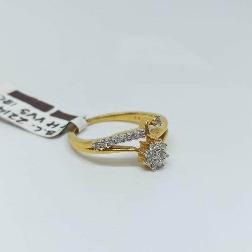 Kalgi Diamond Ring
