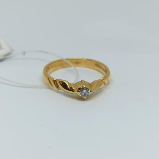 Leaf Design Diamond Ring