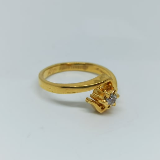 Chakra Diamond Ring
