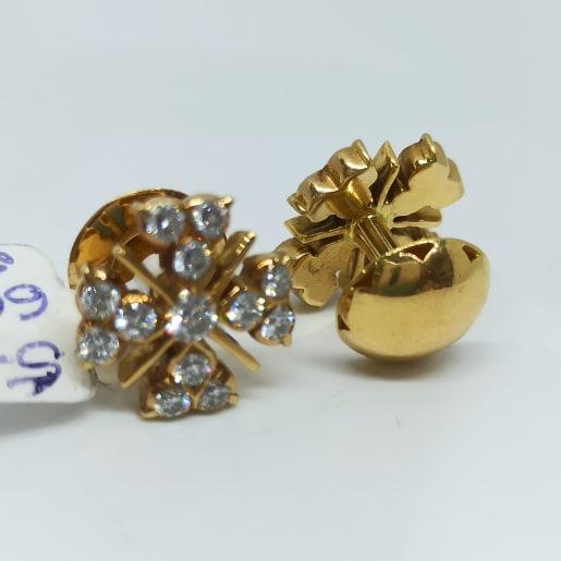 Triplet Diamond Studs