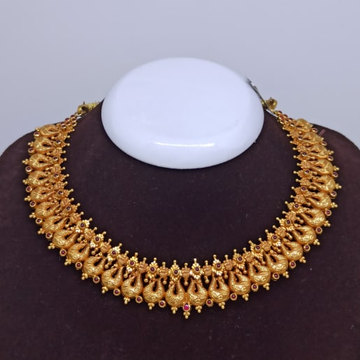 Radha Antique Necklace Set