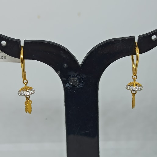 Cz Drop Earrings 2