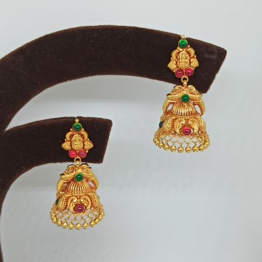 Kanika Antique Jhumka