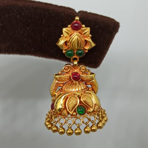 Harshitha Antique Jhumka