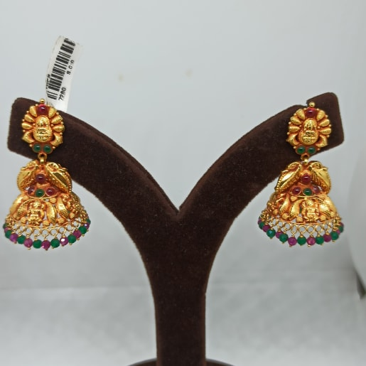 Urvi Antique Jhumka