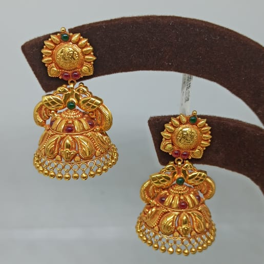 Aashika Antique Jhumka