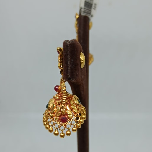 Mor Antique Jhumka