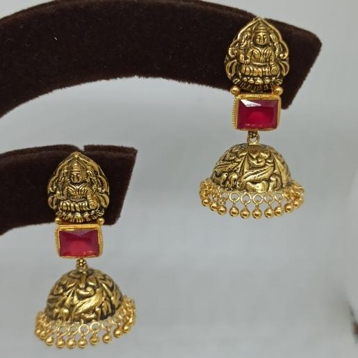 Lakshmi Antique Nakash Jhumka