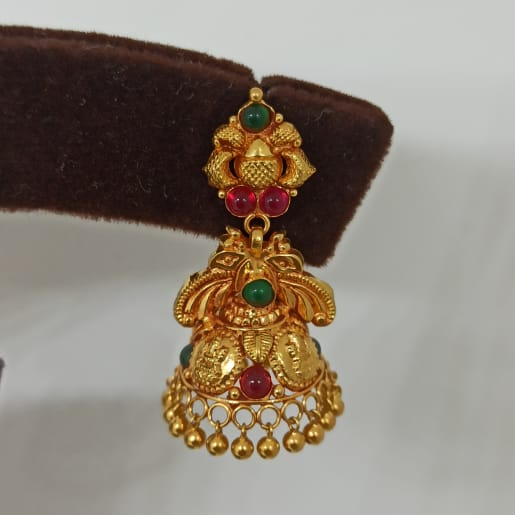 Devasani Antique Jhumka