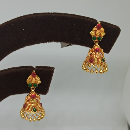 Purvika Antique Jhumka