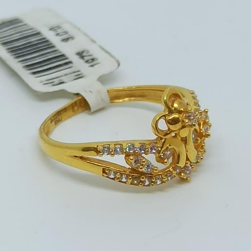 Flower Crown Cz Ring