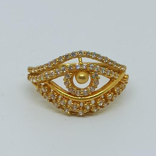 Heavens Eye Cz Ring For Women