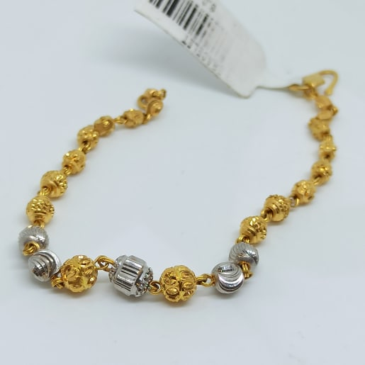 Gold Two Color Bracelet
